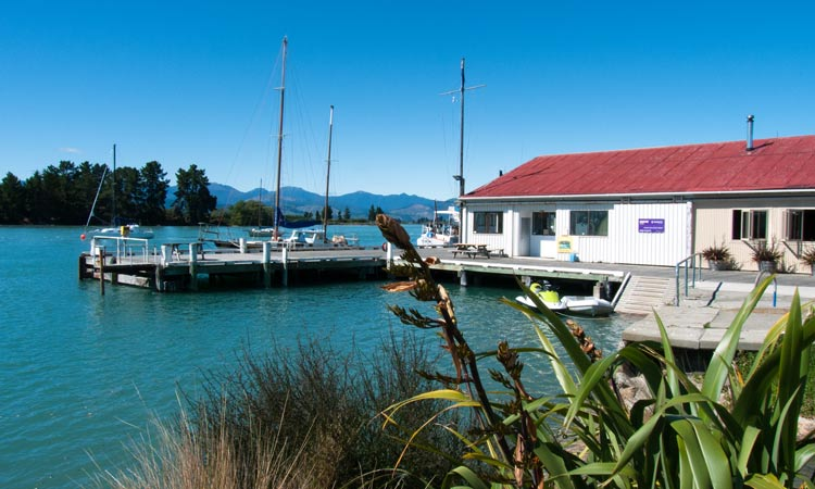 Great places to eat at Mapua Wharf